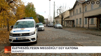 Életveszélyesen megsérült egy amerikai katona a ferencvárosi pályaudvaron