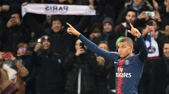 Mbappe pazar gólja, hibátlan a PSG 12 forduló után