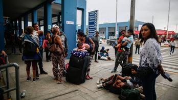 Több mint fél millióan menekültek Peruba Venezuelából