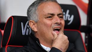Mostanában jó jel, ha hátrányba kerül Mourinho