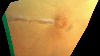 Különös felhőt figyel a Mars Express űrszonda