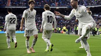 Flippergóllal, 11-essel szenvedett ki győzelmet a Real Madrid