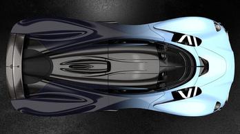 Újabb képeken az Aston hiperautója