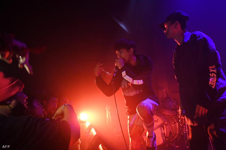 Bangkoki koncerten a thai rapper K.Aglet, a Rap Against Dictatorship tagja 2018. október 27-én