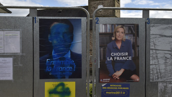 Marine Le Pen pártja legyőzné Macronékat
