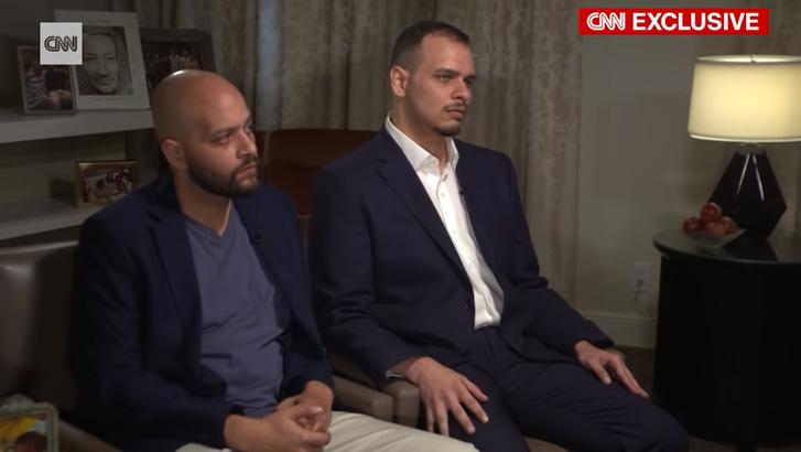 Dzsamál Hasogdzsi fiai Szalah és Abdullah Hasogdzsi