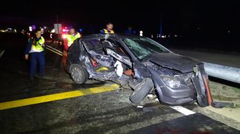 Halálos baleset történt a 4-es főúton Cegléd közelében