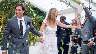 Végre itt az első fotó Gwyneth Paltrow-ék esküvőjéről