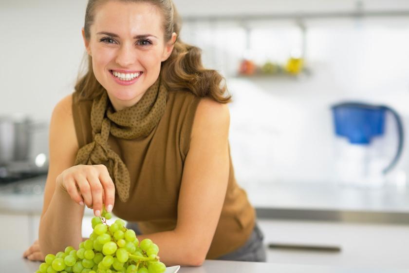 Így edd a szőlőt, ha fogyókúrázol - Nem kell aggódnod a magas cukortartalom miatt