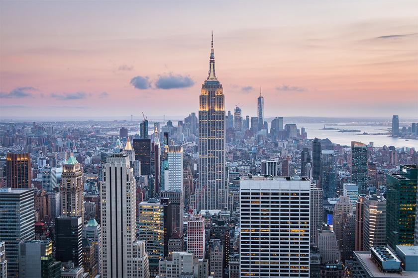 New York idén a lista második helyén végzett.