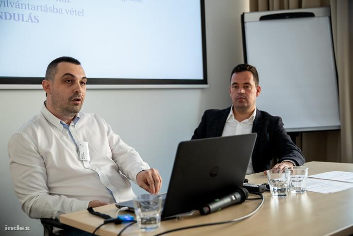 Fehér Balázs és Dr. Keresztény Zoltán