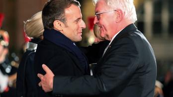 A francia és a német államfő együtt emlékezett az első világháború lezárására