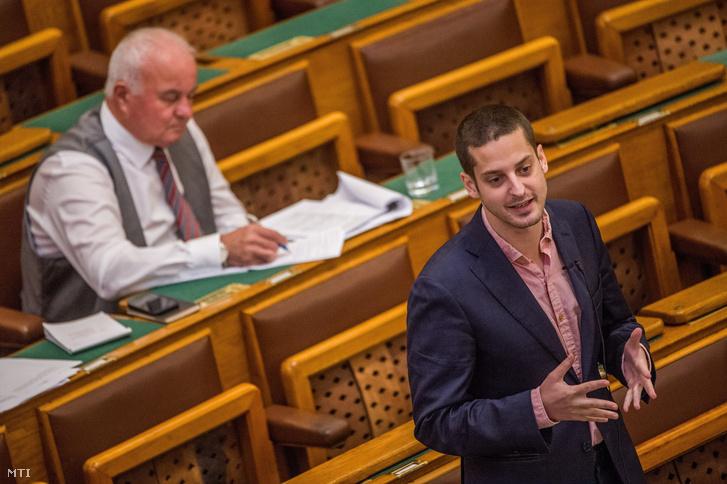 Ungár Péter, az LMP képviselője