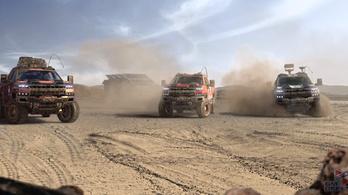 Új katonai járművet villantott a GM Defense