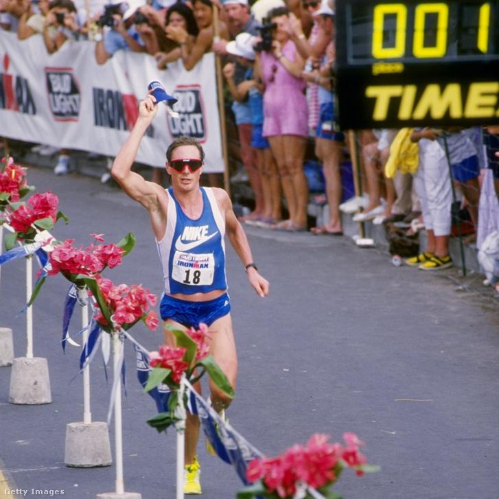 Mark Allen a hawaii Ironman versenyen 1986-ban