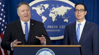 Életbe léptek a megújított amerikai szankciók Irán ellen