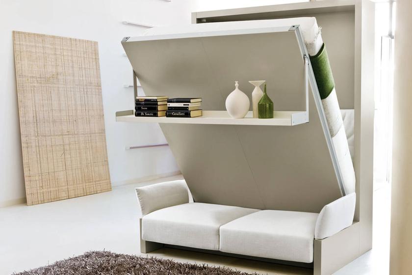 Szekrényből előbújó ágy? Mesebeli ötletek apró hálószobákba