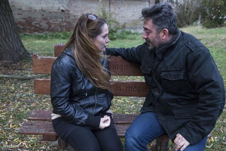 Milák Melinda és Sereglei András