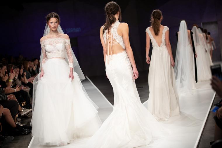Minden (leendő) menyasszonynak tökéletes inspirációs forrás lehet a legújabb kollekciója is