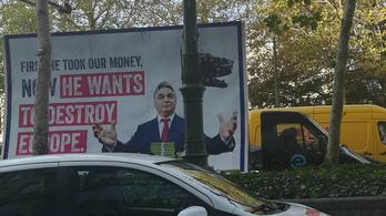 Verhofstadt óriásplakáton üzen Orbánnak