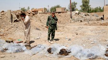 202 tömegsírban 12 ezer holttestet találtak Irakban