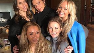 Némi módosítással ugyan, de végre tényleg ismét összeáll a Spice Girls