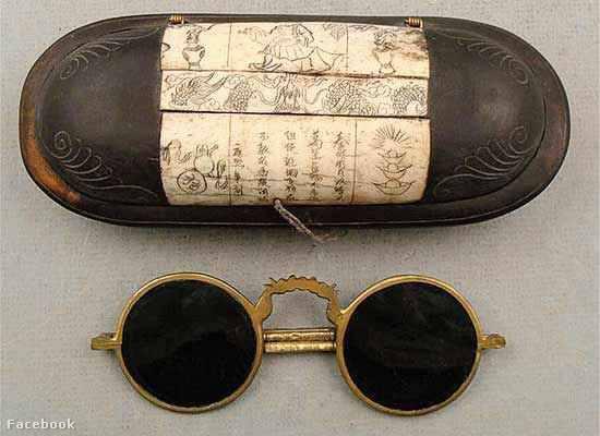 12. századi kínai napszemüveg