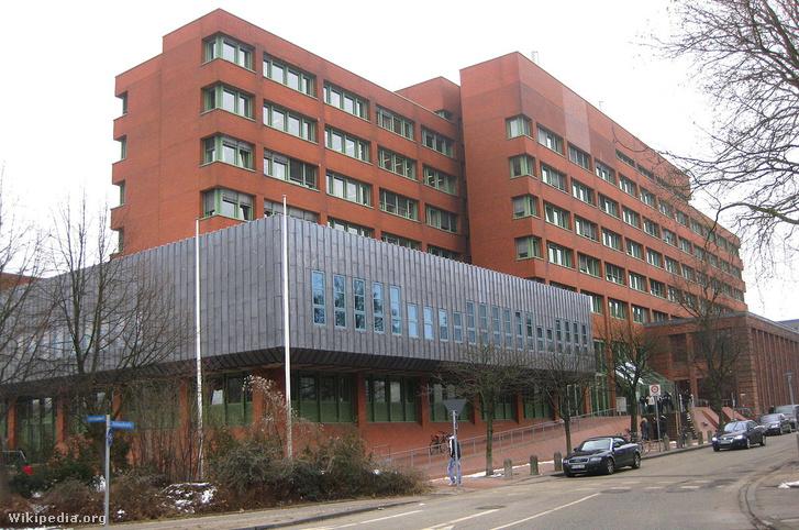 Kiel bíróság épülete