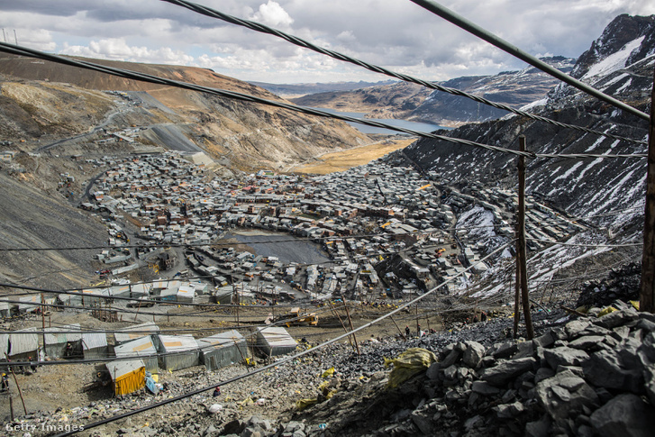 La Rinconada a világ legmagasabban fekvő települése