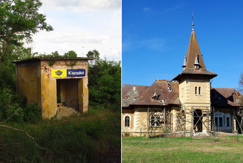 Kiscsákó a Békés megyei Nagyszénás és Orosháza közötti, elzárt terület, lakói főként idős emberek. Nevezetessége a mára romossá vált Geiszt-Gáspár-kastély.