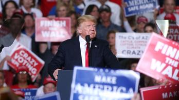 Trump migránshajrával zárta az amerikai választási kampányt