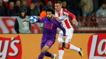 Hengerelt a Crvena Zvezda, legyőzte a Liverpoolt