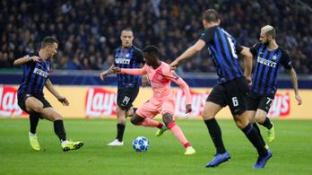 Őrült végjáték az Inter-Barcán