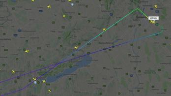 Visszafordult Budapestre a Wizz Air keddi, milánói járata