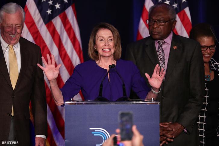 Pelosi a választás estéjén