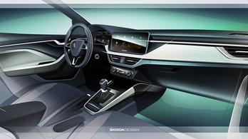 Ilyen lesz az új Škoda Scala belülről
