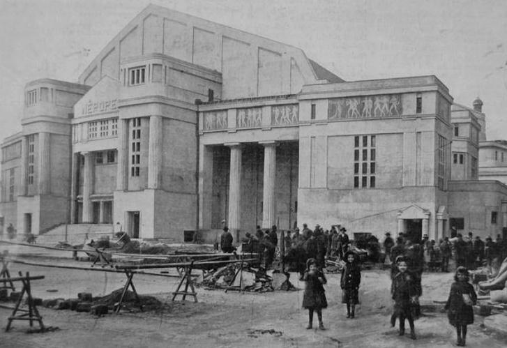 A Népopera az 1911-es Vasárnapi Újságban