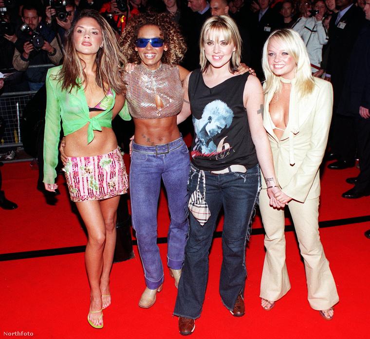 Ezzel a fotóval meg is érkeztünk az evészavarok érájába, 2000-ben járunk, a Spice Girls (első) feloszlásának az évében