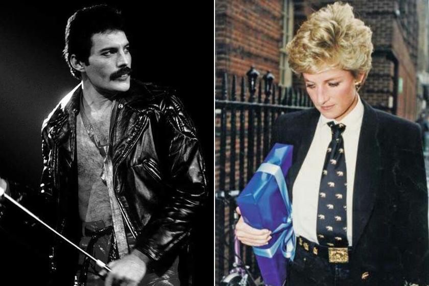 Egy alkalommal, amikor Diana hercegnő menekülni akart az udvari élet szorításából, Freddie transzvesztitának öltöztette, és bevitte magával az egyik koncertjére. Diana állítólag odavolt érte, hogy senki nem ismerte fel, és kedvére szórakozhatott.