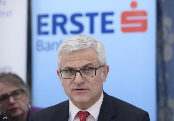 Jelasity Radován, az Erste Bank Hungary Zrt. elnök-vezérigazgatója