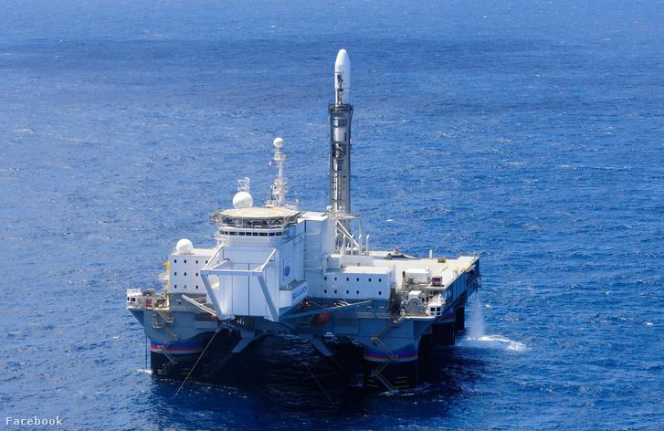 S7 Space tengeri kilövőállomása