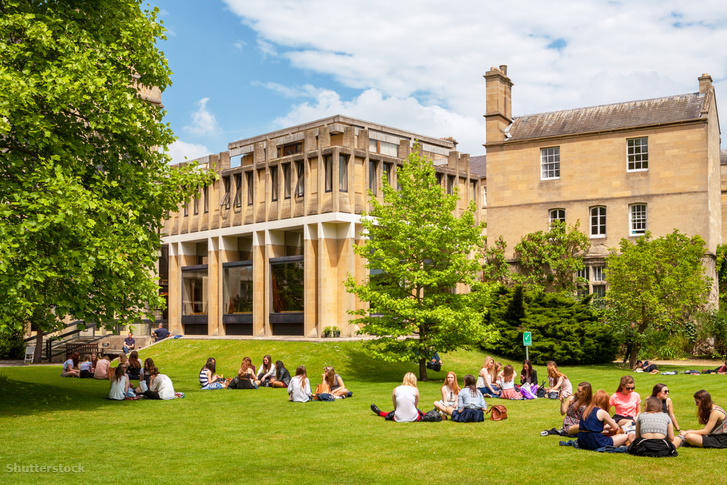 Az Oxford University parkja