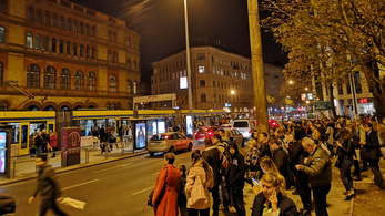 Most kemény közlekedni Budapesten