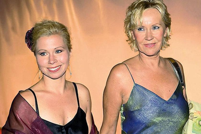 Linda és édesanyja, Agnetha felnőttként is jó kapcsolatot ápolnak.