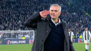 Mourinho kamatostul adta vissza, amit a Juve-drukkerektől kapott