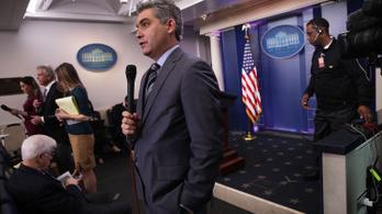 Kitiltották a Fehér Házból a Trumppal vitatkozó CNN-tudósítót
