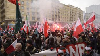 Állami rendezvény lesz a lengyel szélsőjobbosok függetlenségi menete