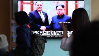 Észak-Korea berághatott Amerikára, mert megakadtak a tárgyalások