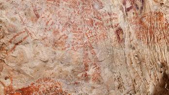 A világ legrégibb figuratív barlangrajzait fedezték fel Indonéziában