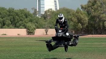 Repülő motorokra képzik ki a rendőröket Dubajban